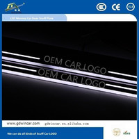 Car Led Door Sill Plate for Toyota Levin Good quality Exterior Accessories Brushed stainless steel