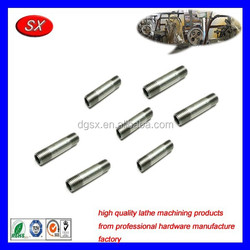 customized CNC lathe machining Parts Carbon Stainless Steel Connecting Bar