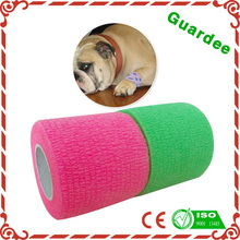 beautiful pet bandages breathable cohesive wrap FDA