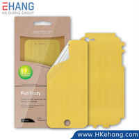 New Product Automatic Repair Full Cover Screen Protector Film for iPhone 6 and 6 Plus Gold Edition