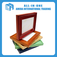 beautiful solid wood decorative photo frame