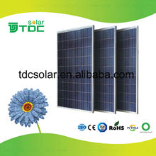 Good Quatliy/High efficiency monocrystalline solar panel price india for solar system