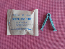 sterile umbilical cord clamp / pink color