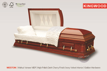 WESTON Best Price Walnuts Casket jewish casket wholesal