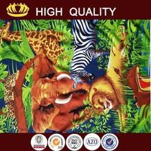 New design the royal standard print microfiber beach towel made in China
