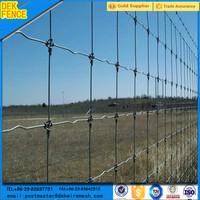 Hinge joint non-galvanized deer farm indoor tree fence