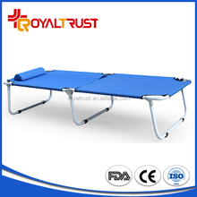 Professional camp sand low relaxer beach bed