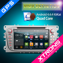 """Xtrons for Ford PF72FSFA-S 7"""" Android 4.4.4 KitKat Quad Core Car DVD Player with Screen Mirroring Function & OBD2"""