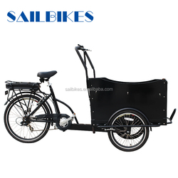 best selling cargo box tricycle on sale