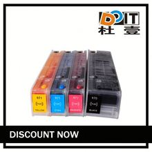 Refillable ink cartridge for hp 970 / 971, suitable for HP officejet PRO X451 x551 x476 x576 printers