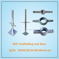 Galvanized scaffolding accessories screw jacks