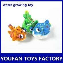 colorful animal stuffed plush grow expand water toys