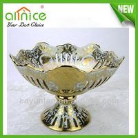 Creative luxury Fruit Tray,ceramic fruit plate,European classical fruit dishes