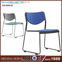 modern colorful plastic stacking chair for sale