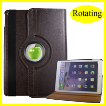 Minion case for ipad 2 3 4 Leather 360 Rotating for ipad 4 Case with Magnetic Auto Sleep for ipad mini Case Best Quality & Price