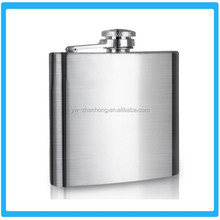 Customized Stainless Steel 8oz flagon hip flask