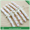 decorative linen padded hangers/satin lingerie hangers