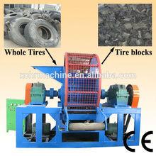 nuovo progettato usata triturazione dei pneumatici attrezzature/usato trinciatrice di gomma della macchina