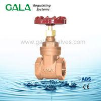 NRS bronze 25mm threaded gate valve ,gate valves oil and gas pipeline