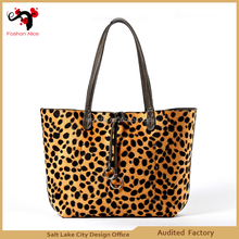 2015 zebra print 100% genuine leather designer handbag
