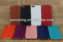 new skin case chrome back cover for iphone 5