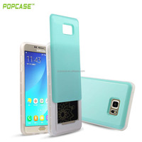 Wholesale for samsung note5 case PC slide mobile phone cover case