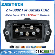 For Suzuki CIAZ/ ALIVIO/Keietsu accessories touch screen car dvd player with gps