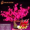 432 beautiful red led cherry blossom tree light,home/hotel/restaurant decorating lighting