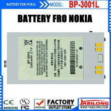 Free Shipping BP-3001L 1240mAh China Phone Batteries for Nokia 6708 China Phone Bateries