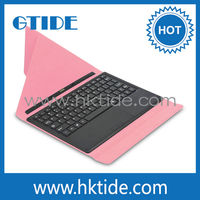 new product pink 10.1 tablet case keyboard
