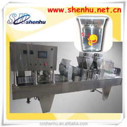 Shenhu Automatic 4 cup sealer machine for juice/water/liquid
