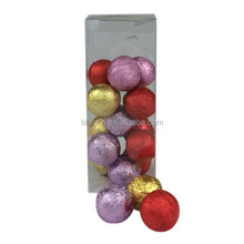 15g x12 PVC Packaging Cracking Bath Bomb Bath Fizzies With Shea Butter Assorted Lime Scents The Best Shower Fizzer
