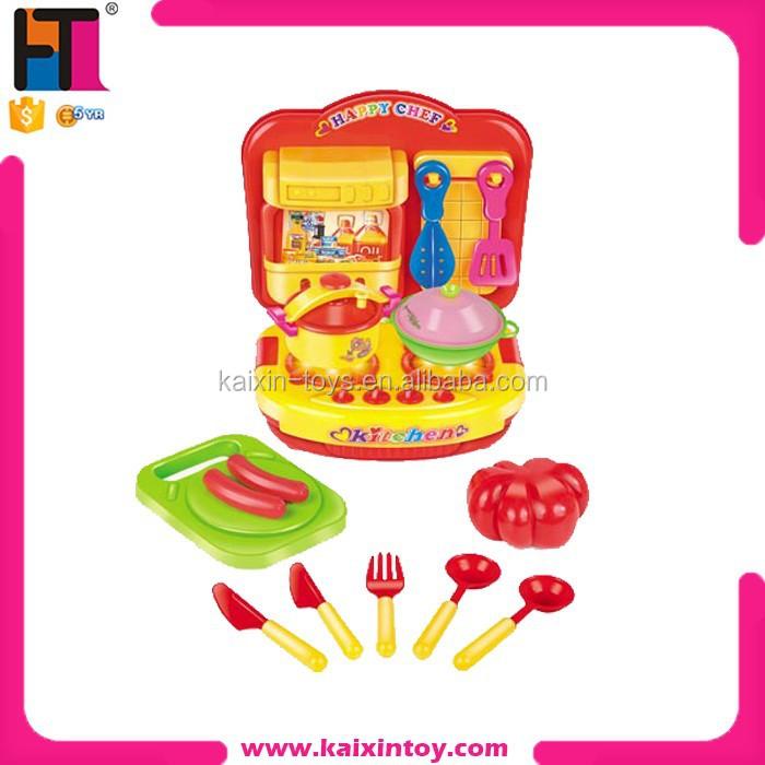 Plastic fashion mini kitchen set pretend play set toy for for Mini kitchen set for kids
