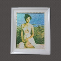 Hot Sale Sexy Nude Beautiful Woman Sand Painting