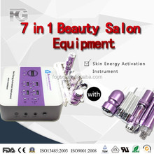 Safe and fast microdermabrasion mini machine 7 in 1 for home use