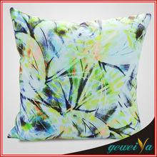 Custom Cotton Flower Digital Printing Cushion Pillow