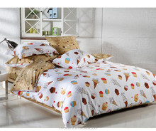 China suppiers luxury printed polyeste quilt 4pcs bedding sets,silk comforter , natural silk quilt , duvet for kids wholesale