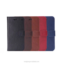 flip cover for iphone 6 factory hot selling wallet leather case for iphone 6