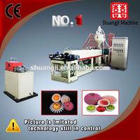 Different Type Styrofoam EPE foam mesh extruder machine