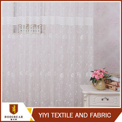 China wholesale Flower latest curtain designs 2015