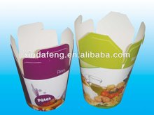 cheap disposable paper pasta boxes made in China