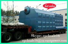 Double drum solid fuel industrial boiler Glass A manufacturer