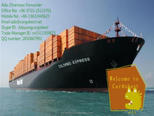 Shipping rates from Chilung China to Sohar.