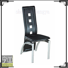 PVC Leather painted Dining Chair for dining room furniture