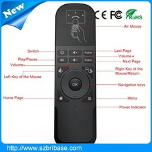 2.4G Air mouse Remote Control for HTPC ,Smart TV BOX running Android systems