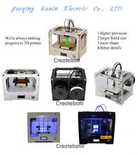 LCD Screen USB & SD Card 3D Models Printer Machine