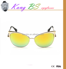 2015 New retro sunglasses as gift, crazy party sunglasses with fashion cat eye