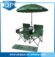MARKET HOT double camping chairs with umbrella