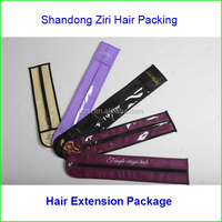 Professional manufacture factory supply hair packaging bag hot sale