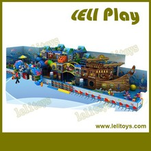 LL-I12 Favorable Price Ocean Themed Large Indoor Playground Equipment